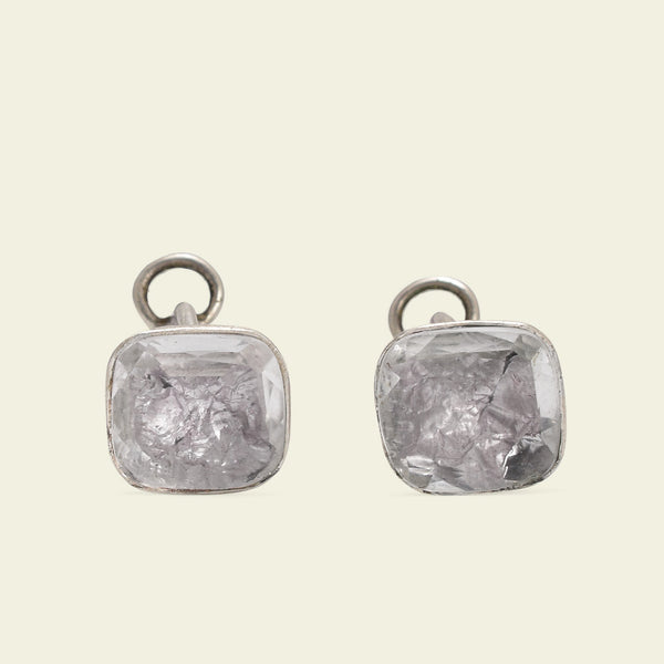 Stuart Period Rock Crystal Earrings