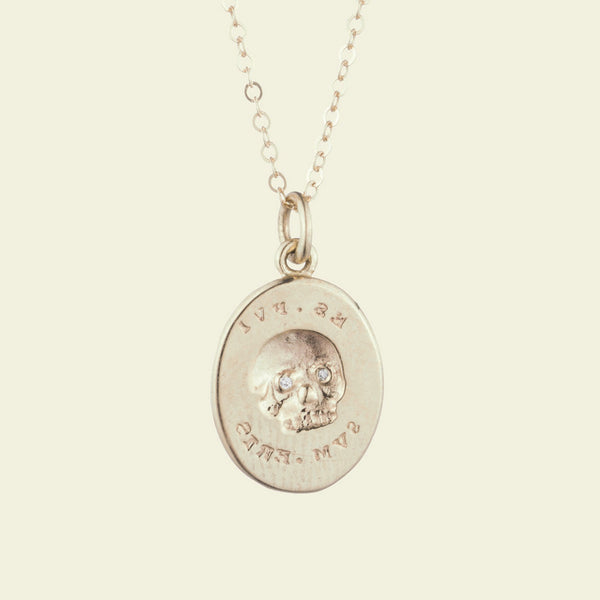 ES FUI Skull Necklace
