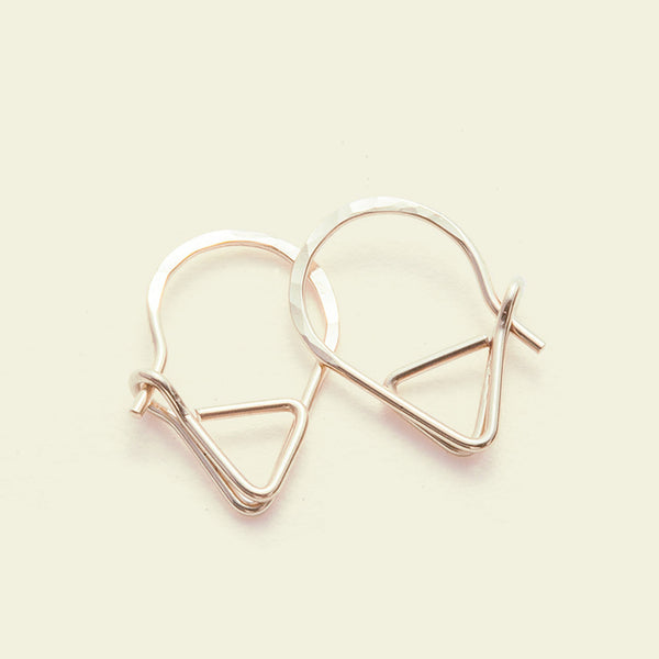 Sleeper Earrings (14k yellow gold)