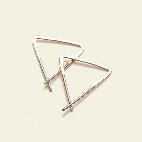Teepee Earrings (14K yellow gold)