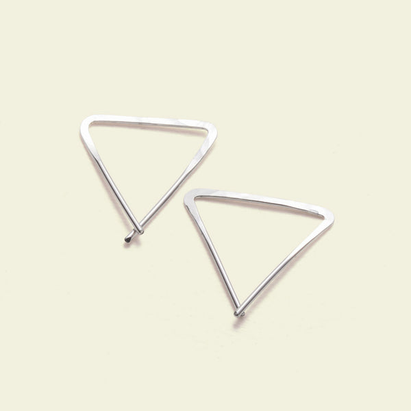 Teepee Earrings (silver)
