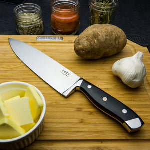 "8"" Chef's Knife High Carbon Steel"