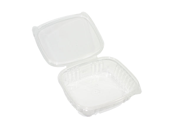 24oz Clear Clam Shell with Lid (Singles)