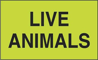 Live Animals Sticker