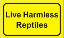 Live Harmless Reptiles Sticker