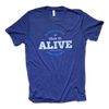 made alive t-shirt, tri-blend