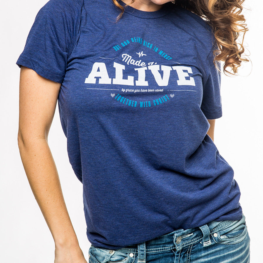 Alive in Christ shirt