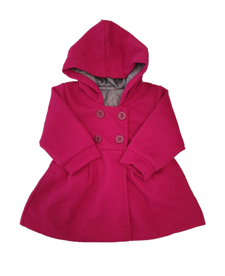 Dress Coat - Plum - little-love-bug-clothing