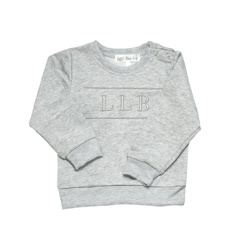 LLB Crew Neck Jumper - Grey Marle