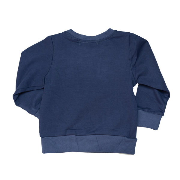 LLB Crew Neck Jumper - Navy