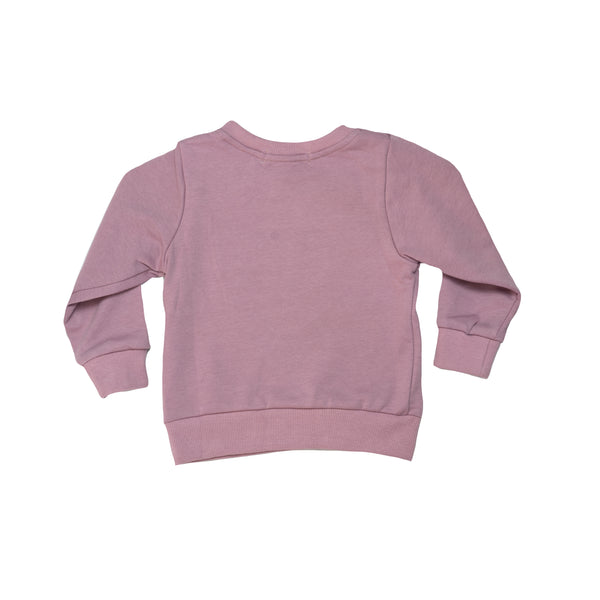 LLB Crew Neck Jumper - Dusty Pink