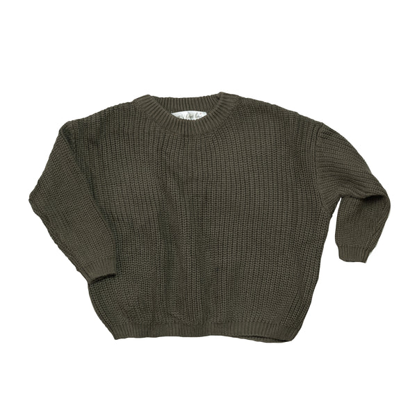 Dream Knitted Jumper - Coffee