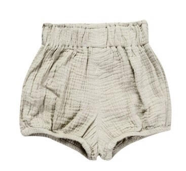 Highrise Shorts - Light Grey - little-love-bug-clothing