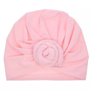 Pink Knotted Headband Wrap - little-love-bug-clothing