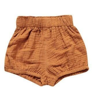 Highrise Shorts - Oxford Tan - little-love-bug-clothing
