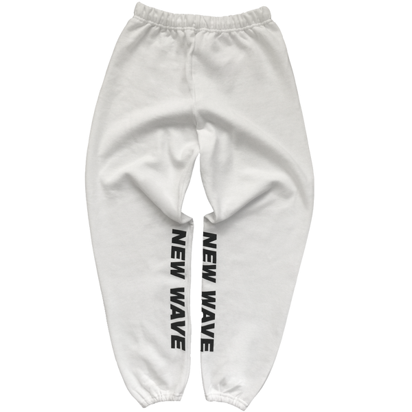 New Wave Sweatpants (White)