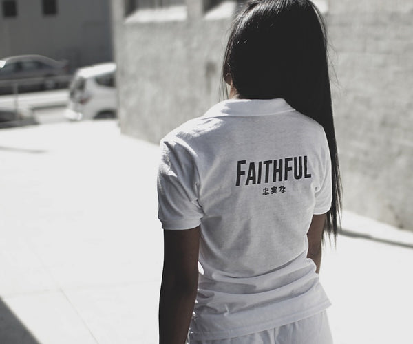 Faithful Polo (white)