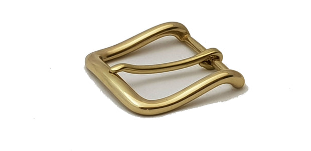 West End Buckle and Keeper- 38mm - Solid Brass - 2532 - MAC2532 - thebeltshed.com.au