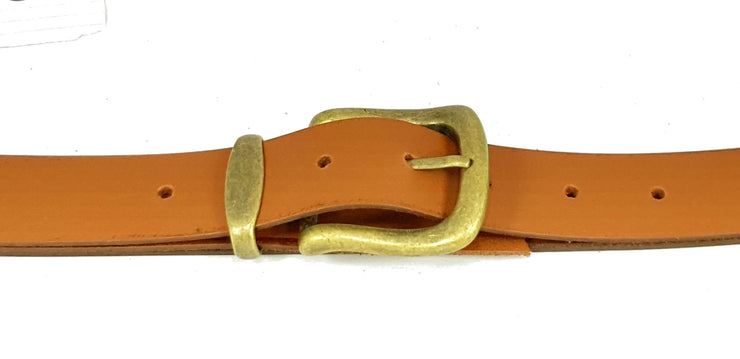 32mm - Square buckle with keeper - Antique Brass - 2500