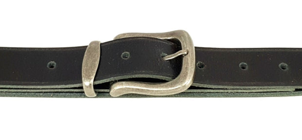 32mm - Buckle and Keeper - Antique Nickel - 2501