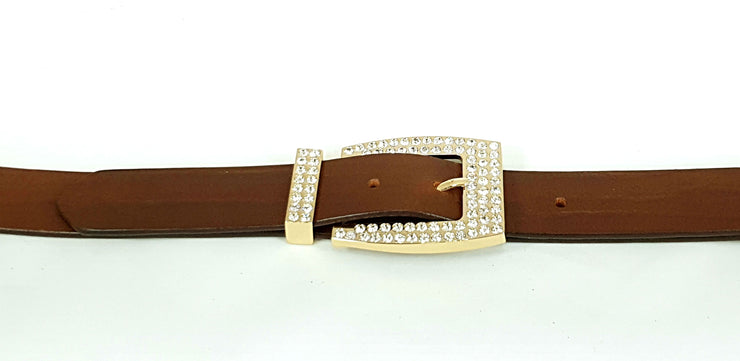 32mm - Rose Gold with Rhinestones - 2372