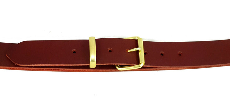 38mm - Roller buckle with keeper - Matt Brass - 3463