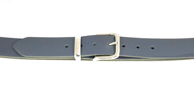 38mm - Square Buckle Rounded Corners and Keeper - Nickel - 1956
