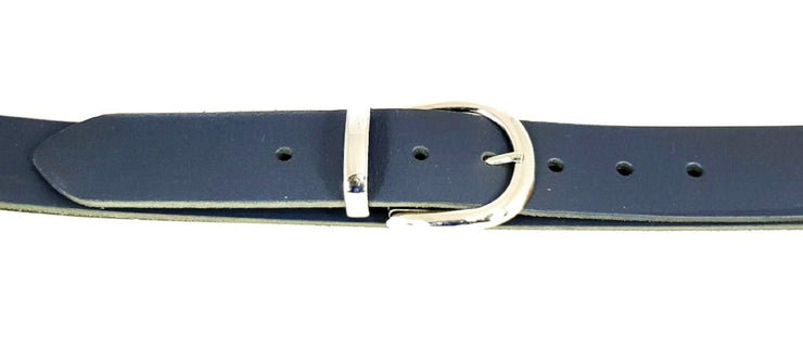 38 mm - 'D' buckle with keeper  - Nickel - 487