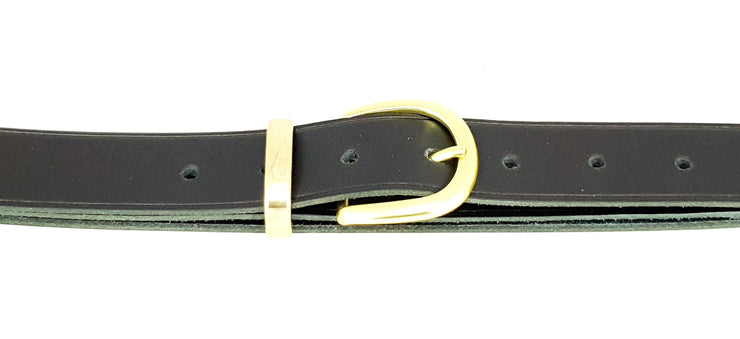 32mm - Buckle and Keeper - Matt Brass - 2572