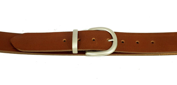 38mm - 'D' buckle with keeper - Pearl Nickel - 2191