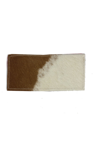 Mens Wallet - Cowhide Red Bandanna