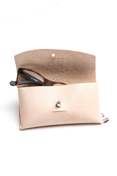 Sunglass Case - Tan