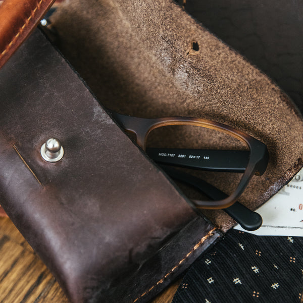 Sunglass Case - Brown
