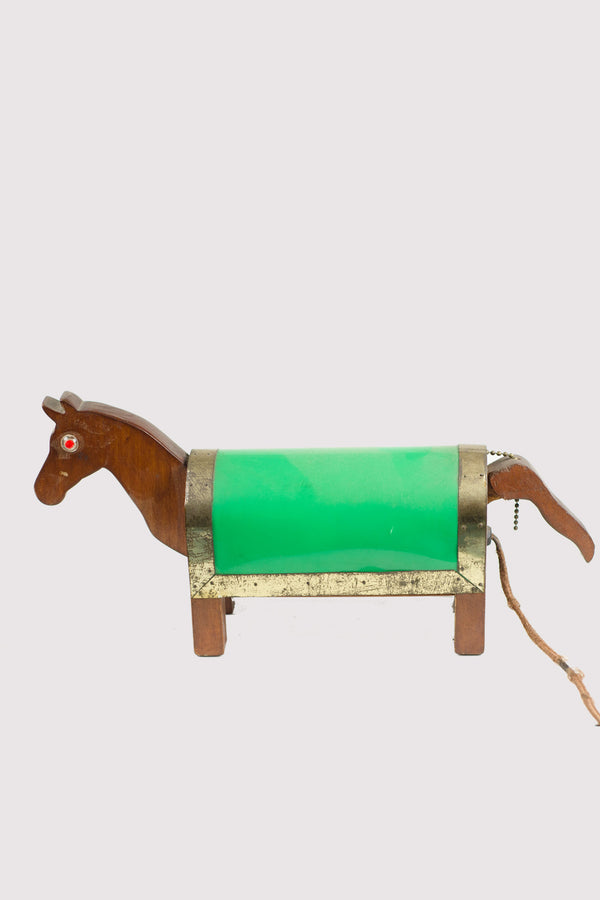 Antique Horse Lamp