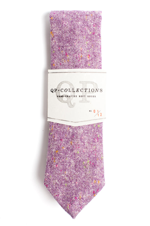 Wool Tweed - Purple