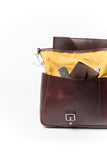 "13"" Laptop Case - Brown and Yellow - Monogram"
