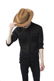 Camel Western Dress Hat
