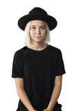Black Teardrop Hat