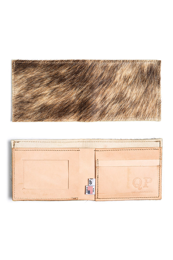 Men's Wallet - Cowhide Hair