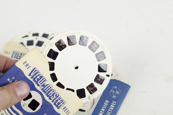 Vintage Viewmaster and Slides