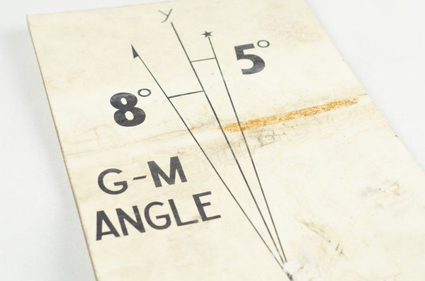 Map Hardware Angle Flashcard