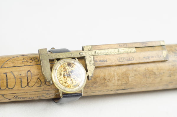 Vintage Automatic Waltham Skeleton Watch