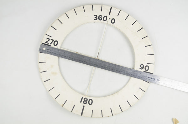 Military Map Protractor 1