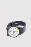 Mickey Mouse Watch with Colored Numbers