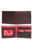Men's Wallet - Brown Bandanna