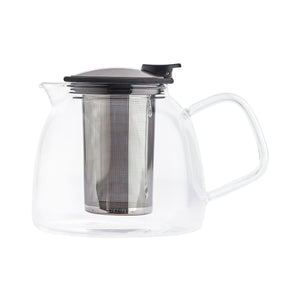 Tetera Bell Glass 1.250 ml Negra