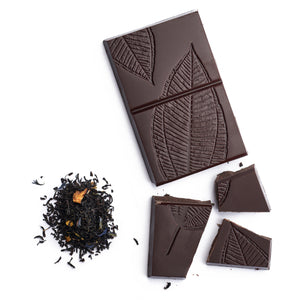 Chocolate 85% Cacao con Earl Grey Bravo