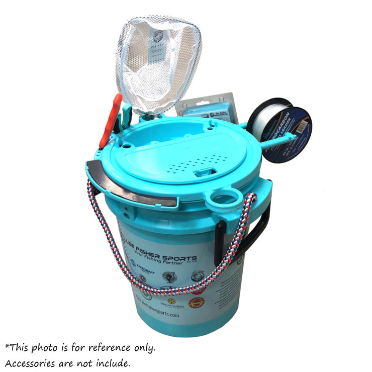 Lee Fisher Sports 5 Gallon iSmart Bucket (Rope Handle) with Essential Top