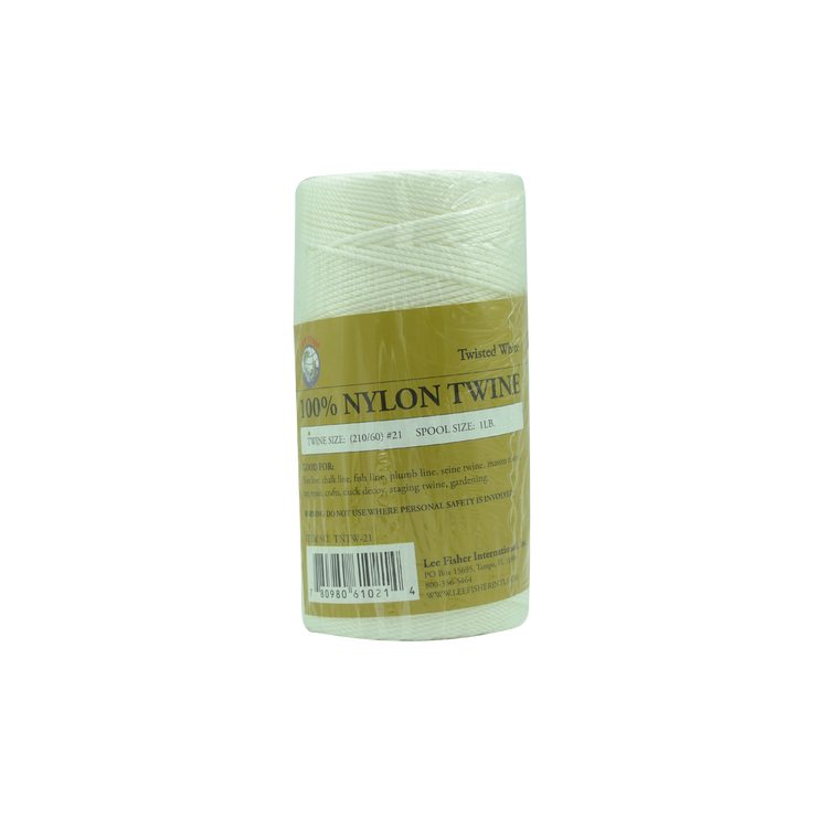 Joy Fish White Twisted Nylon Twine - Lee Fisher Sports