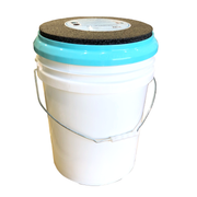 Padded Thick Foam Bucket Seat with 5 Gallon Bucket
